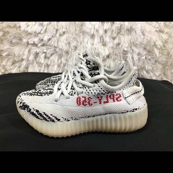 cheap for discount 008b9 06c6f Adidas Yeezy Boost 350 V2 Zebra Size 11.5 c